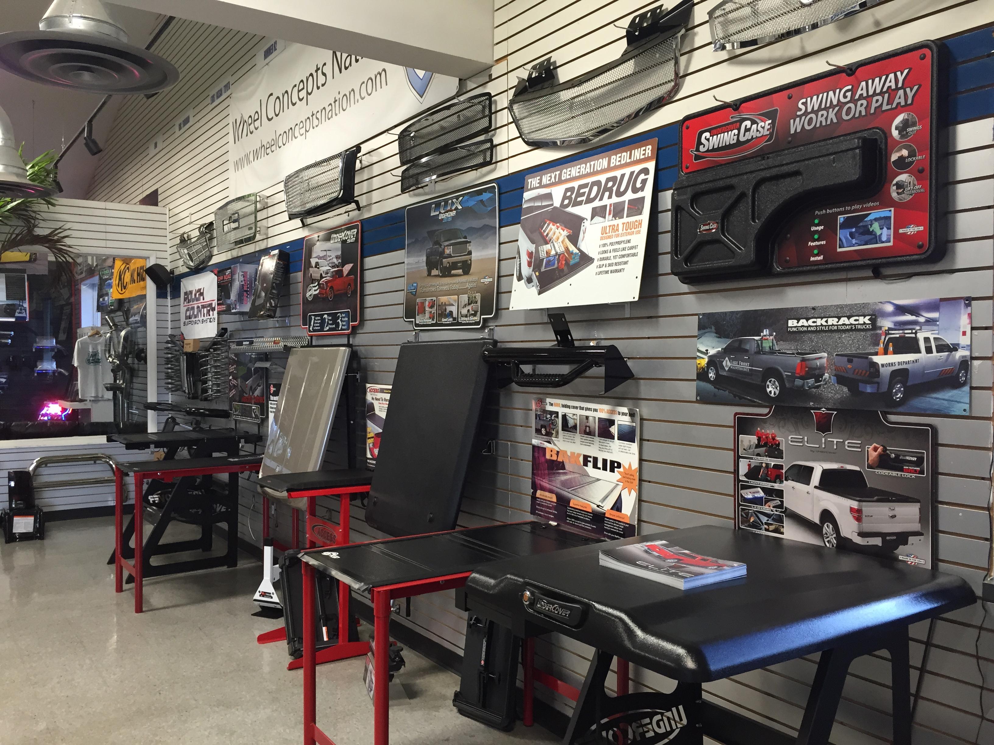 Shop Car Accessories in Staten Island, NY :: Wil John's Tire Empire ...